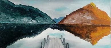 Paint and Wine Night - The Wharf - Paintvine