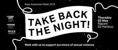 Rape Awareness Week - Take Back the Night