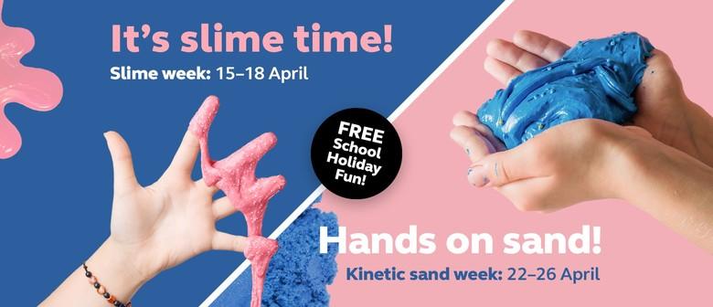 DIY Slime and Kinetic Sand Workshop