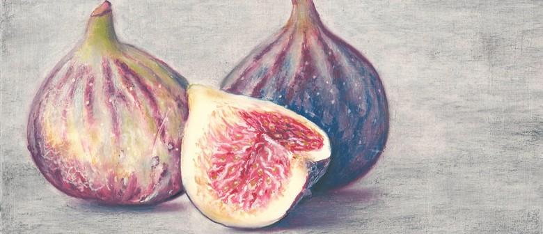 Figs in Oil Pastel 1-day Art Workshop