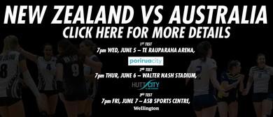 3rd Test - NZL vs AUS - Women's Volleyball