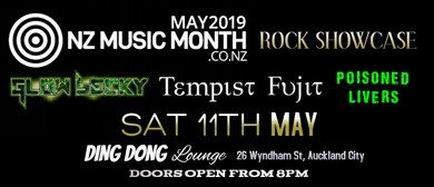 NZ Music Month Rock Showcase