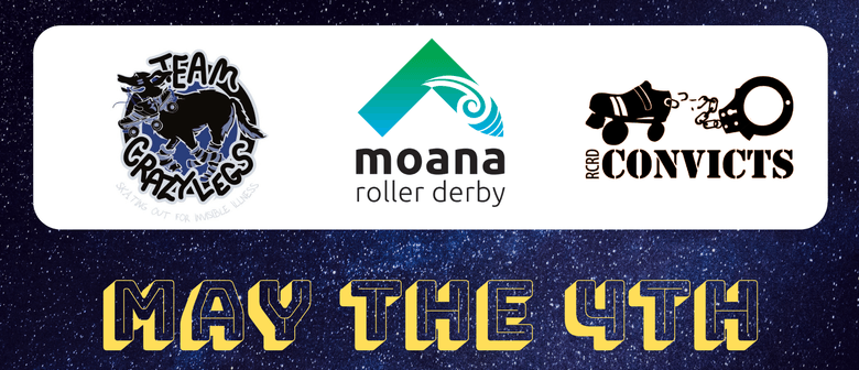 Moana Roller Derby Vs Crazy Legs & Richter City Convicts