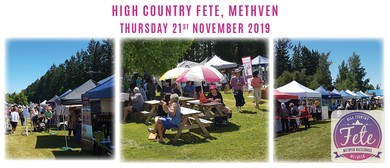 High Country Fete Methven
