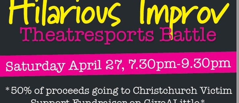 Fundraiser for Christchurch - Hilarious Improv Battle