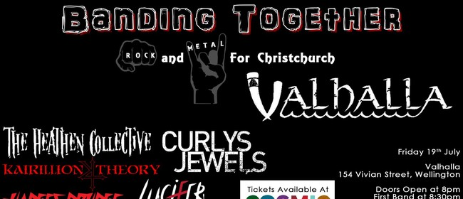 Banding Together: Rock and Metal for Christchurch