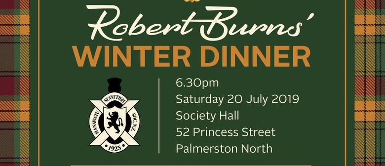 Robert Burns' Winter Dinner