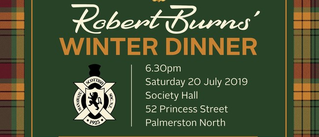Robert Burns' Winter Dinner