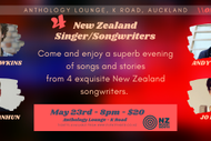 Image for event: NZ Music Month Singer Songwriters Night