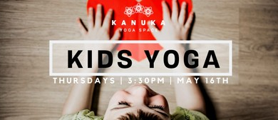 Kids Yoga Series: 4-8 Year Olds