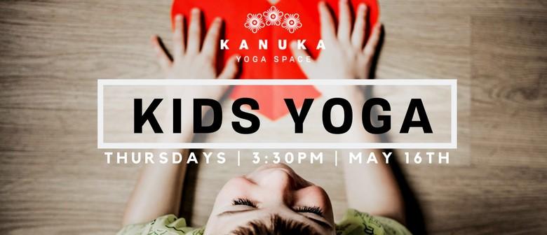 Kids Yoga Series: 4-8 Year Olds