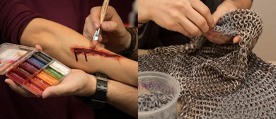 Movie Blood, Chainmail, and Scars & Scrapes Workshop