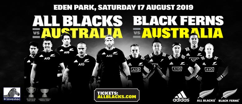 All Blacks v Australia & Black Ferns v Australia