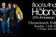 Image for event: Hobnail 25th Anniversary Boots And All Tour