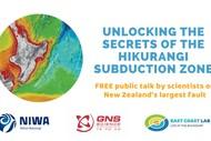 Image for event: Unlocking the Secrets of The Hikurangi Subduction Zone