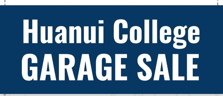 Huanui College Garage Sale