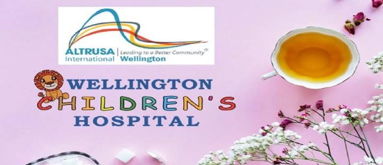 High Tea Fundraiser for New Wellington Children's Hospital