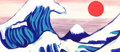Paint and Wine Night - The Great Wave - Paintvine