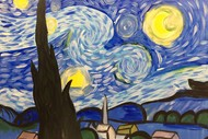 Image for event: Paint and Wine Night - A Starry Night