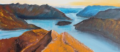 Paint and Wine Night - Roys Peak - Paintvine