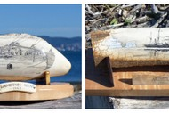 Image for event: Drawings on Whale Teeth - Scrimshaw Art by Gus Milne