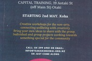Image for event: Creative Workshops