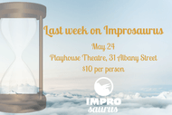 Image for event: Improsaurus: Last Week on Improsaurus