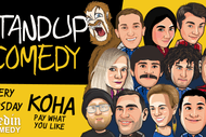 Image for event: Stand Up Comedy - Koha Open Mic