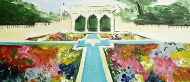 Paint and Wine Night - Hamilton Gardens - Paintvine