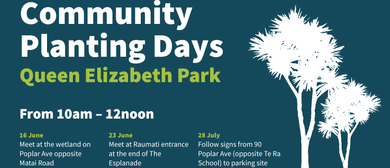Queen Elizabeth Park Planting Events 2019