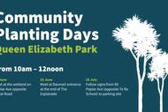 Queen Elizabeth Park Planting Events 2019