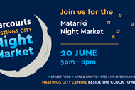 Harcourts Hastings City Matariki Night Market