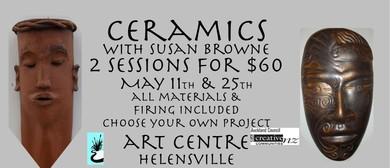 Two Part Ceramics Workshop