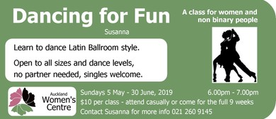 Dancing for Fun (Women's Class)