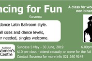 Image for event: Dancing for Fun (Women's Class)