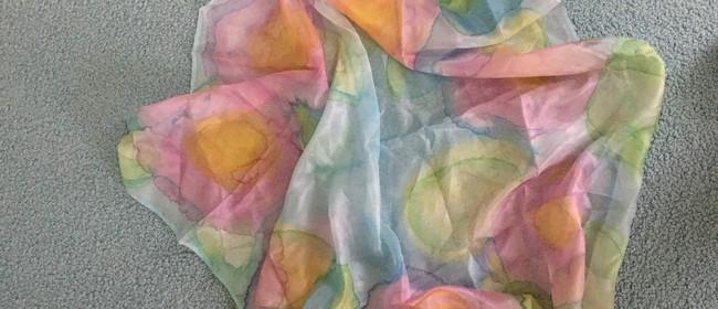 Winter Warmer Craft Silk Painting Workshop