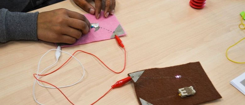 Body sensing with shapes and sounds (E-Textile Adv Level): CANCELLED