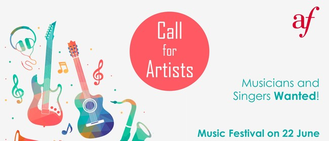 Call for Artists: Musicians and Singers Wanted