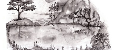Zen Brush Painting Landscapes for Beginners