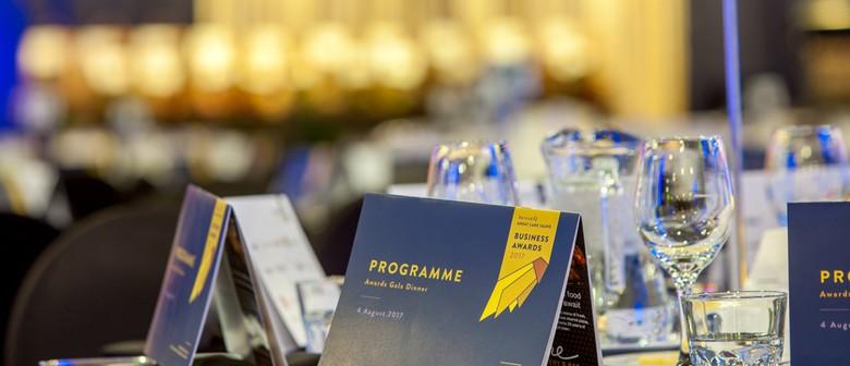 2019 Great Lake Taupo Business Awards Gala Dinner