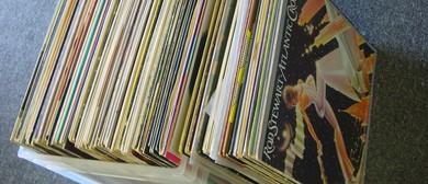 Huge Pop & Rock Vinyl Record Sale - Albany Village Hall