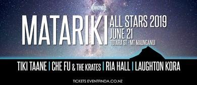 Matariki Allstars 2019 - Aotearoa's Premiere Matariki Event: CANCELLED