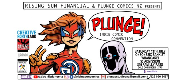 PLUNGE! Indie Comic Convention