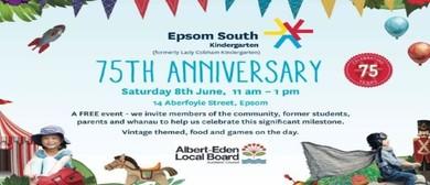 Epsom South Kindergarten 75th Anniversary