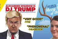 Image for event: Comedy Double Bill: DJ Trump and The Merry Wives of Windsor
