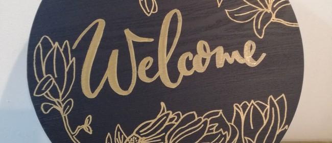 Decorative Wall Plaque Workshop