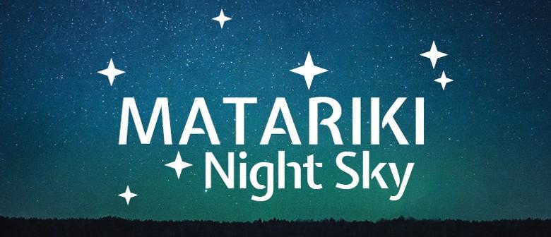 Matariki Night Sky