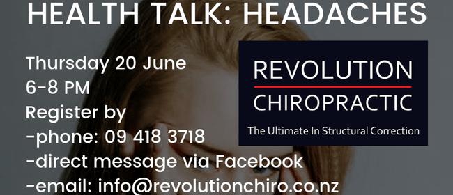 Health Talk: Headaches