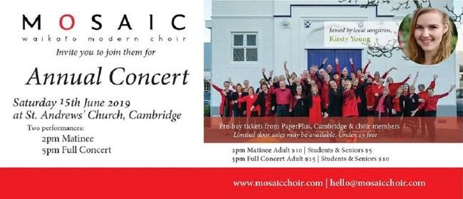 Mosaic Choir Annual Cambridge Concerts
