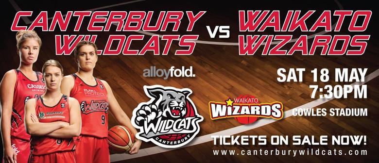 Alloyfold Canterbury Wildcats vs Waikato Wizards